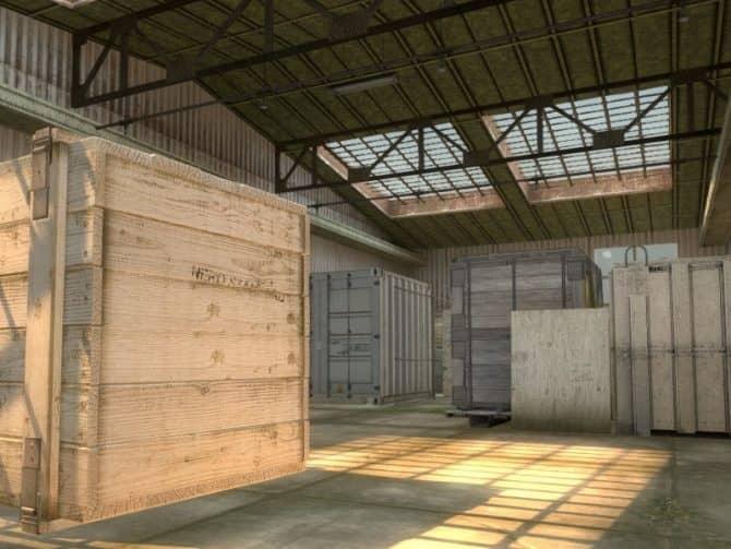 Карта am_munitions_cache для CS:GO