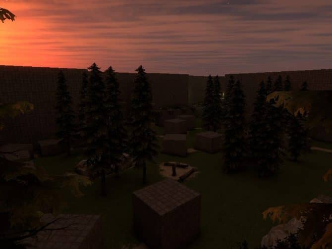 Карта bhop_somp для CS:GO