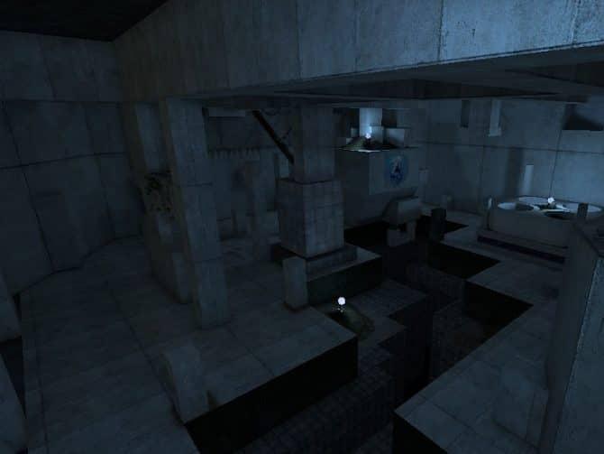 Карта bhop_strafecontrol для CS:GO