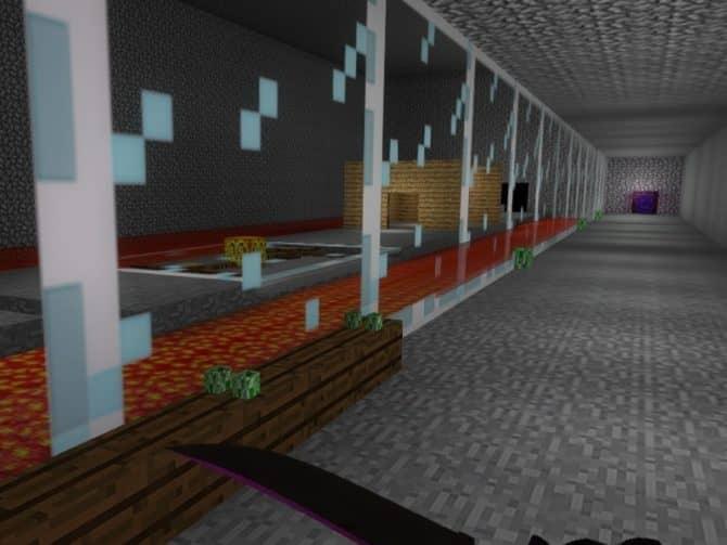 Карта deathrun_minecraft для CS:GO