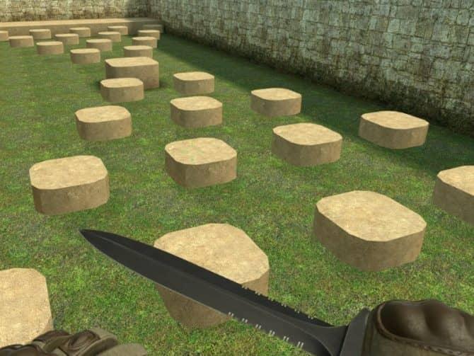Карта deathrun_stone_extended_dz для CS:GO