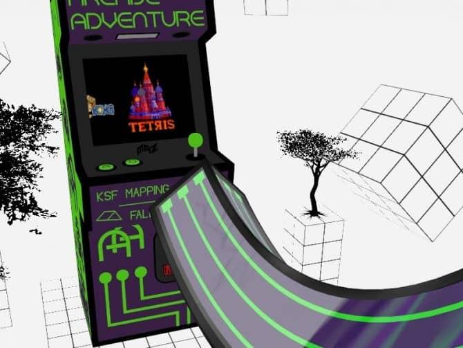 Карта surf_arcade для CS:GO