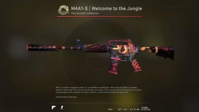 m4a1 s Добро пожаловать в джунгли